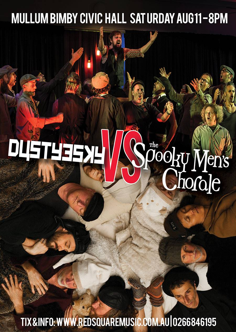 Dustyesky vs Spooky Men's Chorale